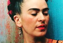 Frida Kahlo / Kunst Farbe Color