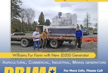 Agricultural Generators / Prima Power Systems Inc provides Generators and accessories for Agricultural business across Canada.