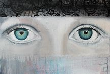 "JaneA ArtWork ""portrait"""