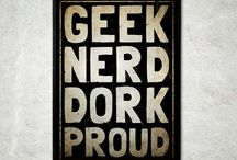 The geek board decor