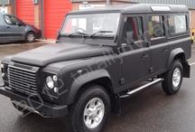 Land Rover / Land Rover car wraps