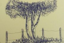 trees in the drawing gabriel