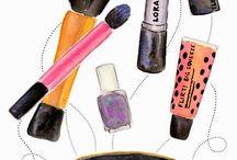desenhos da maquiagem