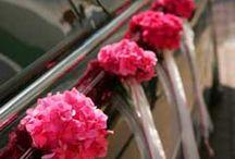 dekoracja samochodu ślub