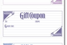 Gift Coupon Printables