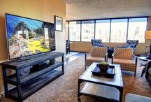 The Grappa / A 1500 square foot, full furnished 2 bedroom and den offering guests luxury downtown condo living in Calgary