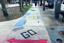 Sidewalk art ideas