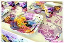 Fiesta de Jasmine de Aladdin - Disney / Ideas y artículos para una fiesta de cumpleaños de Jasmine de la película Aladdín de Disney.