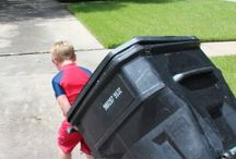 Garbage Man Joe - Kid Businesses / 4 Year Old Joe and his garbage can business and the lessons he has learned