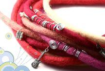 Dreadlocks / Handmade wool dreadlocks, available in my shop (www.foambubbles.etsy.com) and other beautiful locks.