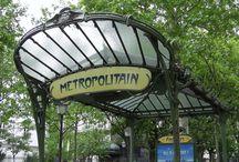 paris art nouveau / Ahh Paris, the world capitol of Art Nouveau.