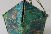 Textile boxes & vessels
