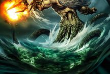 Greek Gods and Goddesses / Olympian, Titan, and Primeval gods and goddesses.