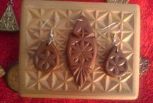 My Chip Carving Jewelery / My Wooden Handmade Chip Carving Jewelery! / by Arshad Kashfi Author