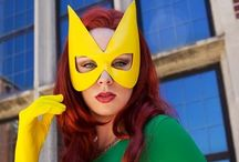 Cosplay Girls: Cosplayer Kearstin Nicholson As Marvel Girl