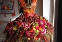 Autumn-Thanksgiving Dress Form Tree