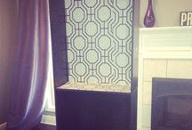 My Home decor / Fab bookcase!