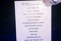 Big Talk - Tour Setlists