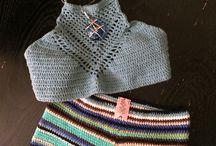 Kadınlar için Örgü/ Dantel Kıyafetler