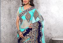 Indian Sari Online Collection / Buy from an unrivaled collection of latest designer sarees including wedding collection exclusively curated for you.