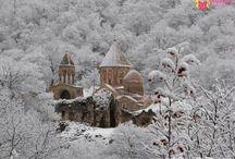 Armenia in Winter / Beauty of Armenia in winter ...