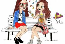 nina y luna amigas ♥