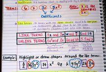 Math: Combine Like Terms