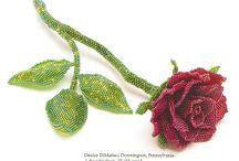 rose flower bead