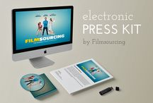 EPK   Electronic Press Kit / How to Create an Electronic Press Kit for Your Film. #filmmaking