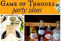 GoT / Theme party inspiration