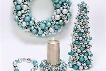 Blue, Mint Christmas Decoration
