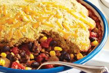 One Skillet Wonders / One skillet wonders are great for busy nights. Less cleanup? Yes please!
