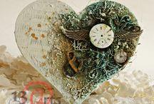 he{ART} / Diy heart shaped handmade lovelies