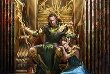 Sigyn + Loki