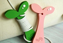 Earphone organizer / by Fallindesign