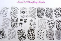 LINA Nail Art Supplies - Stamping Plates
