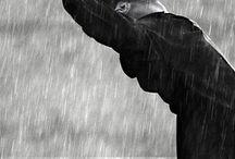 pluie rain / prenons soin de l'eau