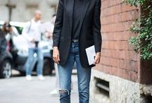 Denim Looks / Denim outfits and inspiration