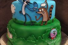 Regular show cakes