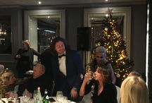 My Christmas Dinner Party with glamorous Friends, December 13, 2017 @ Milano Baglioni Carlton Hotel, catered by Al Baretto