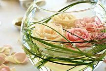 Centre de table fleur