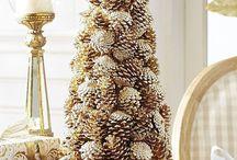 pinecone and birch bark ideas