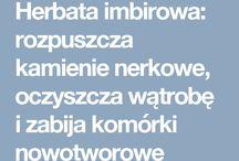 Herbatka imbirowa:)