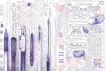 Art journaling.