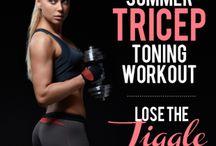 Tricep Toning Workout