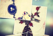 Primavera / Piezas de Bisutería y complementos realizados de manera artesanal con materiales vintage.