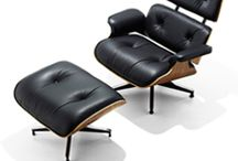 Eames Lounge Ottoman Chair / Was my fantasy, is my best cornor at home now
