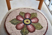 Rug Hooking Chair Pads