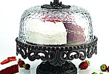 cake  plates / by Jacque Johnson
