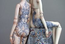 Dolls / by Alicia S - The Hippy Householder